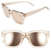 Linda Farrow Women's 50Mm Sunglasses - Ash/ Rose Gold