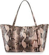 Elaine Turner Designs Philo Blush PyEmbossed Tote Bag