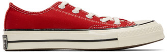 Converse Red Chuck 70 Low Sneakers