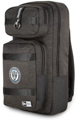New Era Heathered Black Philadelphia Union Slim Tech Backpack