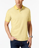 Club Room Men's Big & Tall Feeder-Stripe Polo, Only at Macy's