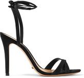 Schutz Lucie suede sandals