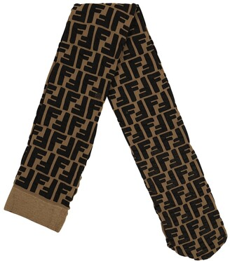 Fendi Kids Printed tights