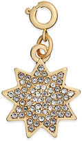 INC International Concepts Gold-Tone Crystal Sun Charm, Created for Macy's