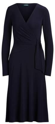 Ralph Lauren Jersey Long-Sleeve Dress