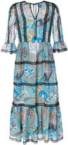 Temperley London shire printed dress - women - Polyester - 8