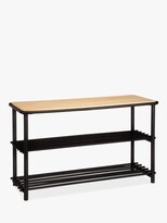 Thumbnail for your product : John Lewis & Partners 2 Tier Metal Shoe Bench