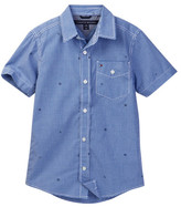 Tommy Hilfiger Charlie Short Sleeve Poplin Shirt (Big Boys)
