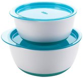 OXO Tot Small & Large Bowl Set - Green - 2 ct