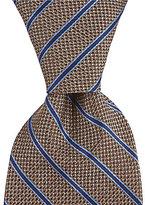 Hart Schaffner Marx Bird Stripe Traditional Silk Tie