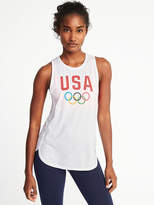 Old Navy Team USA® Tulip-Hem Muscle Tank for Women