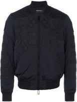 Emporio Armani patch detail bomber jacket - men - Polyamide/Polyester - M