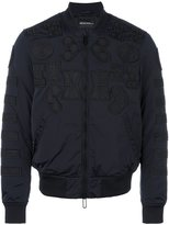 Emporio Armani patch detail bomber jacket