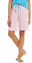 Karen Neuburger Geometric Bermuda Sleep Shorts