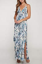 Love Stitch Lovestitch Halter Floral Maxi