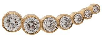 Sophie Bille Brahe 18kt Yellow Gold Croissant De Lune Diamond Earring