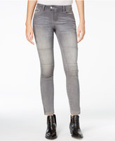 Armani Exchange Grey Wash Moto Skinny Jeans