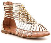 Nina Girl's Karlee Metallic Gladiator Sandals