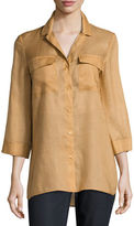 Lafayette 148 New York GEMMA CLOTH FRAN BLOUSE
