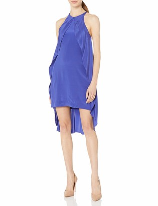 Nicole Miller Women's Stretch CDC Cross Back Dress