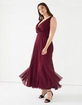 Scarlett & Jo Plus Chiffon Maxi Dress