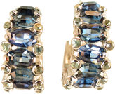 One Kings Lane Vintage 1950s Sapphire Hoop Earrings