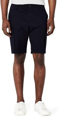 Meraki Amazon Brand Men's Cotton Slim Fit Cargo Shorts