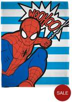 Marvel Ultimate Spiderman Abstract Fleece Blanket