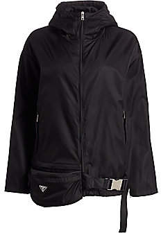Prada Women's Nylon Anorak Jacket