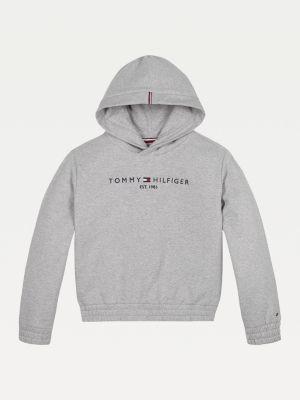 Tommy Hilfiger Essential Logo Embroidery Fleece Hoody