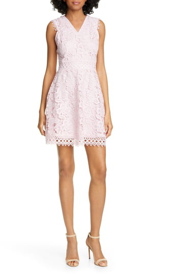 Ted Baker Beniel Fit & Flare Lace Party Dress