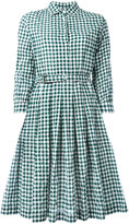Aspesi checked shirt dress - women - Cotton/Polyurethane - 42