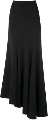 Gloria Coelho Asymmetric Maxi Skirt