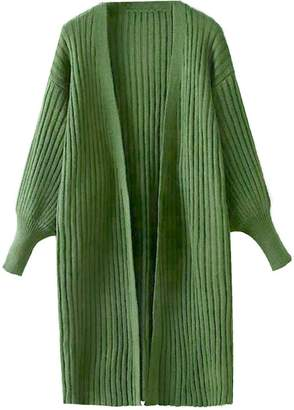 Goodnight Macaroon 'Kelly' Lantern Sleeve Knitted Long Cardigan ( 3 Colors)