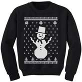TeeStars - Big Snowman Ugly Christmas Sweater Holidays Cute Kids Sweatshirt