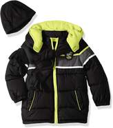 iXtreme Toddler Boys' Colorblock Gwp Puffer