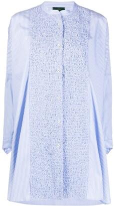 Jejia Textured Panel Oversize Shirt