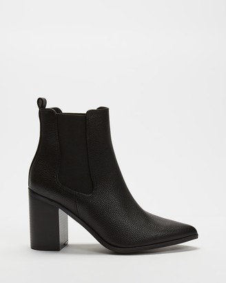 Spurr Women's Black Chelsea Boots - Ally Ankle Boots - Size 5 at The Iconic