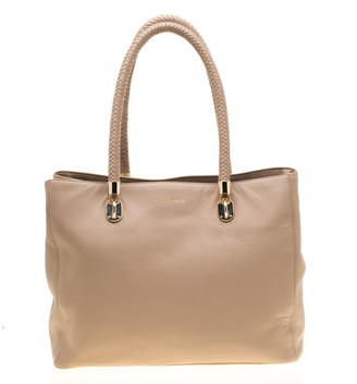 Cole Haan Beige Leather Benson Tote