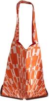 Hermes Orange Silk Handbag Silky Pop