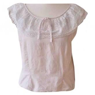 Ohne Titel Pink Linen Top for Women