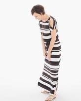 Chico's Composed Stripe Maxi Dress