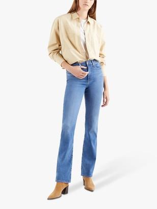 Levi's 725 High Rise Boot Cut Jeans