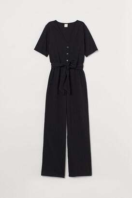H&M Cotton-blend Jumpsuit