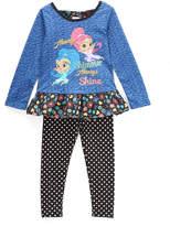 Children's Apparel Network Shimmer & Shine Blue Tunic & Leggings - Toddler & Girls