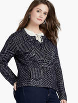 Lucky Brand Jaquard Sweater