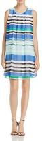 Calvin Klein Striped A-Line Dress