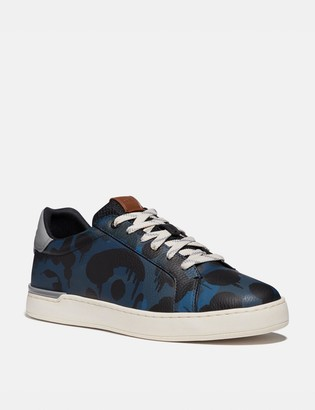 Coach Lowline Low Top Sneaker With Wild Beast Print