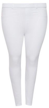Dorothy Perkins Womens Dp Curve White 'Eden' Denim Jeans, White