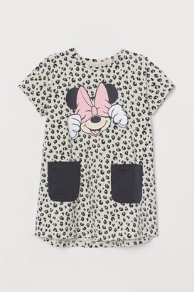 H&M Printed Dress - Beige